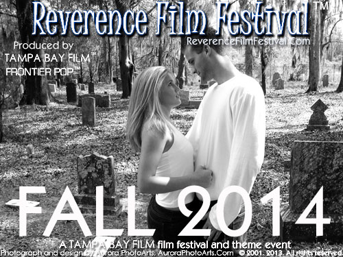 Early pre-site Reverence Film Festival test promotional poster. This will change when the site launches.